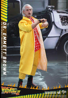 Hot Toys 1/6 Back to the Future II Dr. Emmeret Brown Sixth Scale Figure MMS380 3