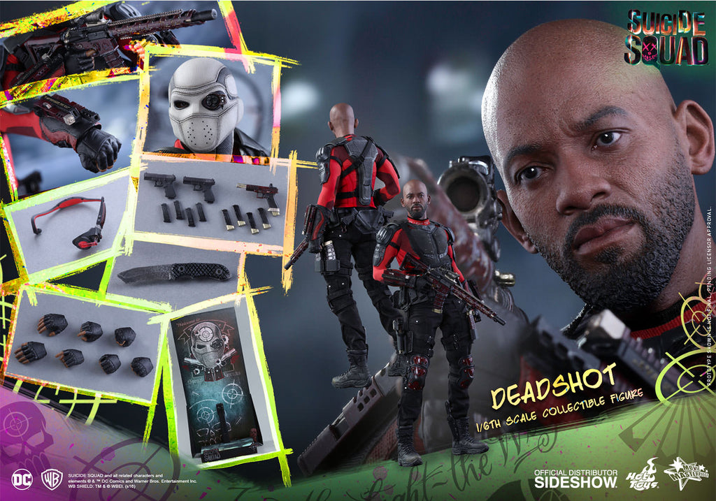 Hot Toys 1/6 Suicide Squad Deadshot Sixth Scale Figure MMS381