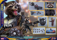 Hot Toys 1/6 Guardians of the Galaxy Vol. 2 Rocket Racoon Deluxe Ver Sixth scale Figure MMS411