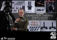 Hot Toys 1/6 Grand Moff Tarkin & Darth Vader Star Wars Episode IV: A New Hope MMS434 Sixth Scale Figures