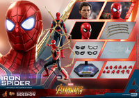 Hot Toys 1/6 Avengers Infinity War Iron Spider Sixth Scale Figure MMS482