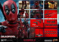 Hot Toys 1/6 Deadpool 2 Deadpool Sixth Scale Figure MMS490