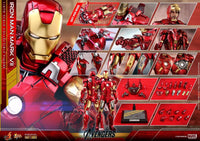 Hot Toys 1/6 Avengers Iron Man Mark VII MK 7 MMS500D27 Diecast Sixth Scale Figure