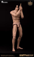 "WorldBox 1/6 Scale 12"" Narrow Shoulders Articulated Male Body AT-011"