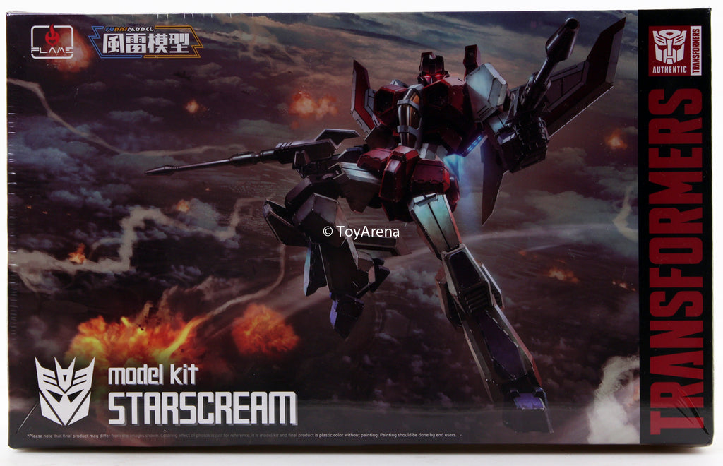 Flame Toys Furai Model Transformers Starscream Model Kit