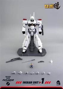 ThreeZero Patlabor ROBO-DOU Ingram Unit 1 1/35 Scale Figure