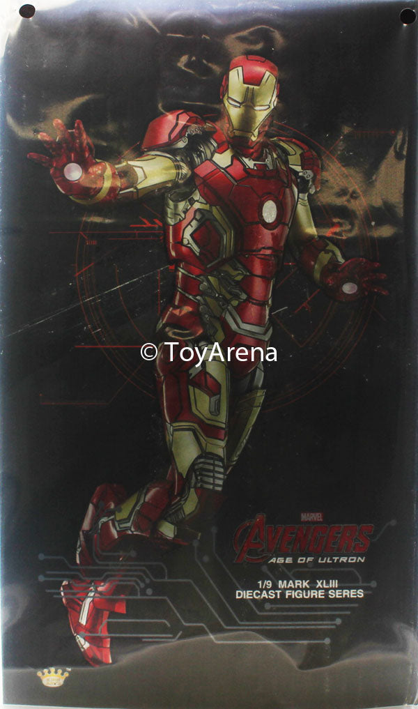 King Arts Iron Man Mark XLIII (43) Age of Ultron Armor 1/9 Scale Figure