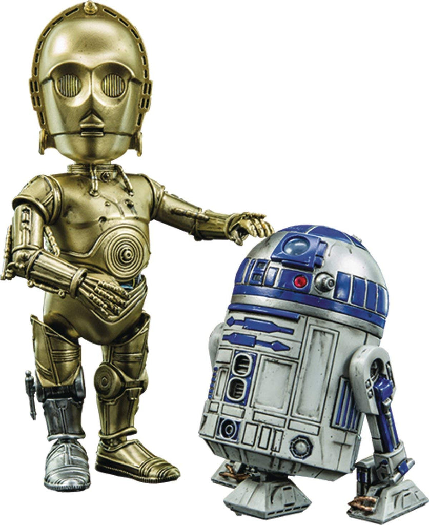 Herocross Star Wars C-3PO and R2-D2 Action Figure set 1