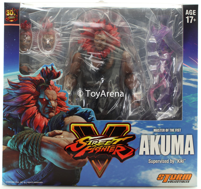 Storm Collectibles 1/12 Street Fighter V Akuma Scale Action Figure