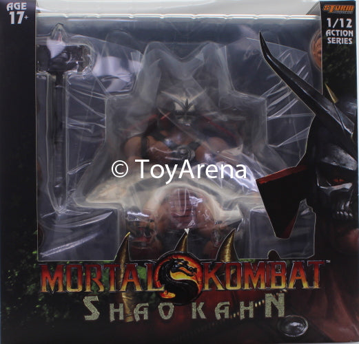 Storm Collectibles 1/12 Mortal Kombat Shao Khan Scale Action Figure