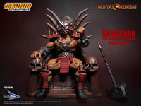 Storm Collectibles Mortal Kombat Shao Khan Special Edition (Bloody) 1/12 Action Series Figure