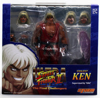 Storm Collectibles 1/12 Street Fighter II Violent Ken Scale Action Figure