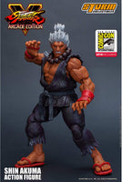 Storm Collectibles 1/12 Street Fighter V SDCC 2018 Arcade Edition Shin Akuma Scale Action Figure 2