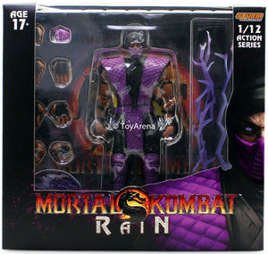 Storm Collectibles 1/12 Mortal Kombat Rain Exclusive Scale Action Figure