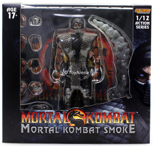 Storm Collectibles 1/12 Mortal Kombat Smoke Exclusive Scale Action Figure