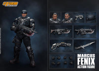 Storm Collectibles 1/12 Gears of War Marcus Fenix Scale Action Figure