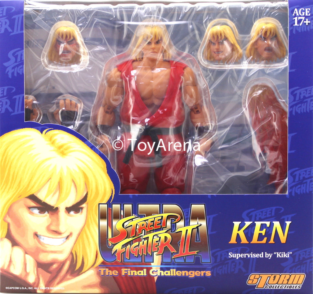 Storm Collectibles 1/12 Ultra Street Fighter II: The Final Challenges Ken Scale Action Figure
