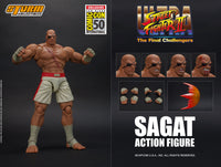 Storm Collectibles 1/12 SDCC 2019 Street Fighter II Sagat Exclusive Scale Action Figure