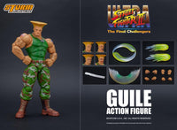 Storm Collectibles 1/12 Ultra Street Fighter II Guile Scale Action Figure 1