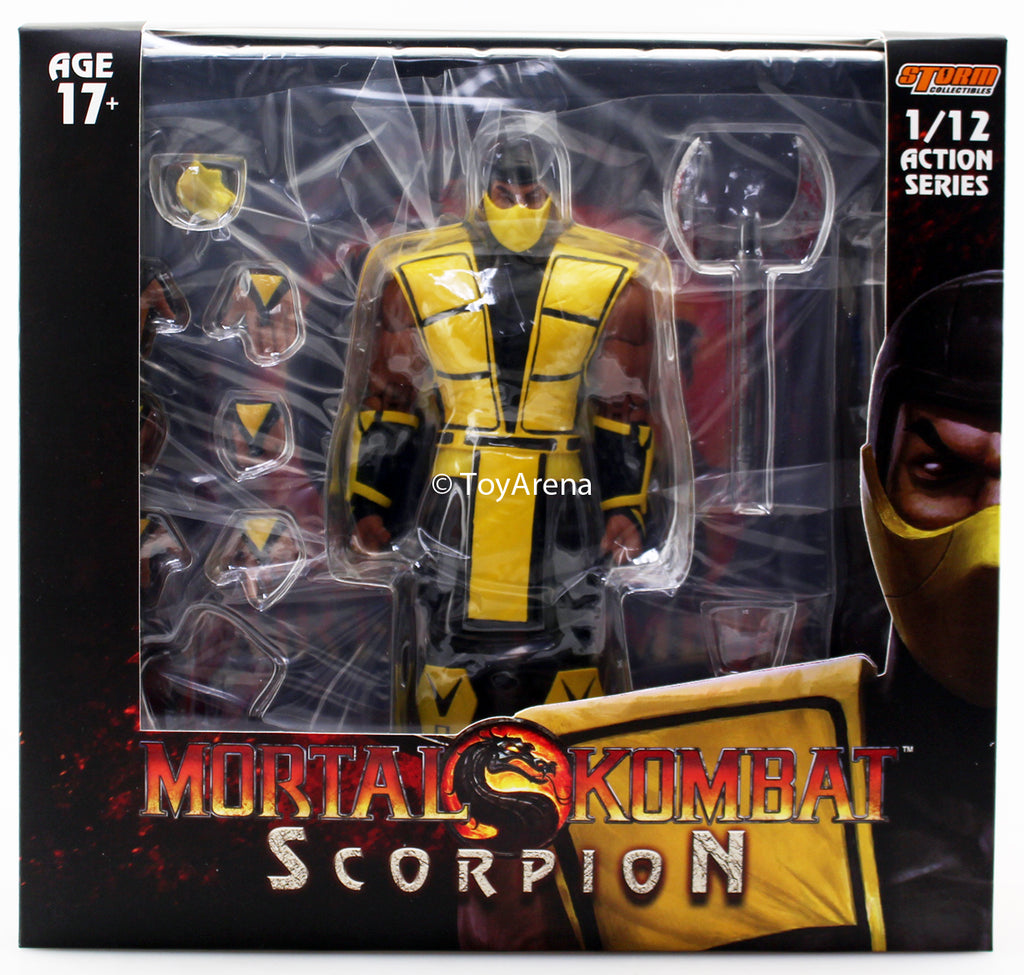 Storm Collectibles 1/12 Mortal Kombat 3 VS Scorpion Scale Action Figure