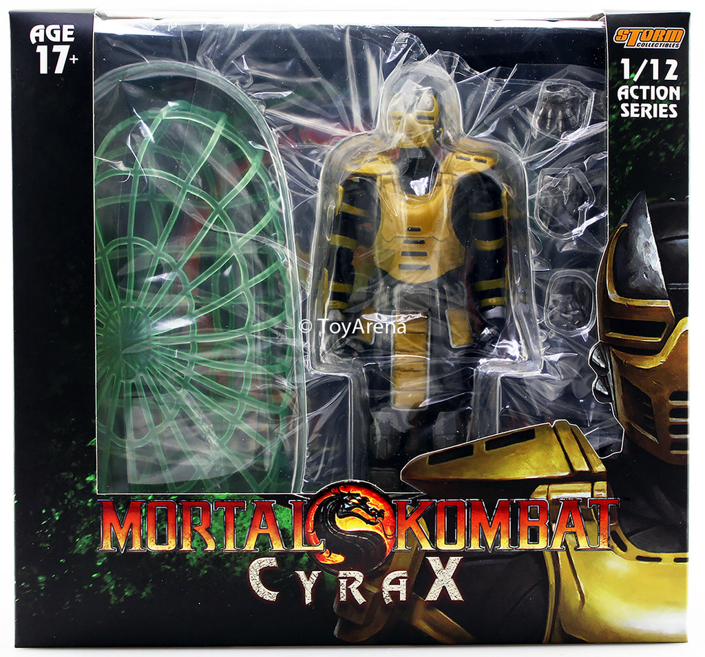 Storm Collectibles 1/12 Mortal Kombat Cyrax Scale Action Figure