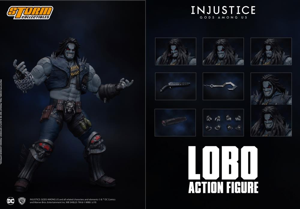 Storm Collectibles 1/12 DC Comics Injustice: Gods Among Us Lobo Action Figure 1