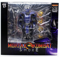 Storm Collectibles 1/12 Mortal Kombat Cyber Ninja Smoke Exclusive Scale Action Figure