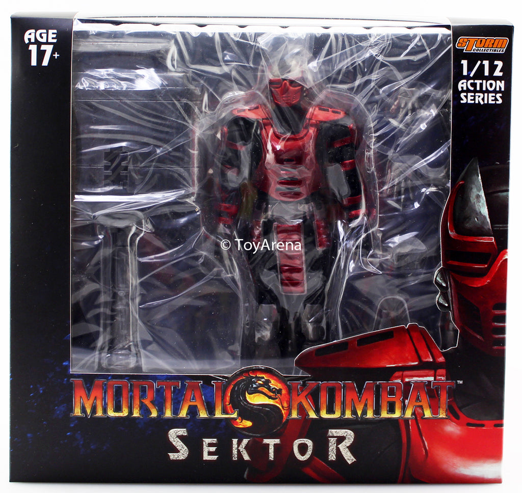 Storm Collectibles 1/12 Mortal Kombat Sektor Action Figure