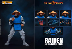 Storm Collectibles 1/12 Mortal Kombat Raiden Action Figure