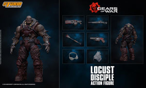 Storm Collectibles 1/12 Gears of War Locust Disciple Scale Action Figure