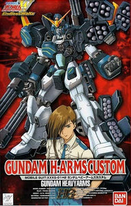 Gundam Wing EW 1/100 HG EW-4 XXXG-01H2 Gundam Heavyarms Custom Model Kit
