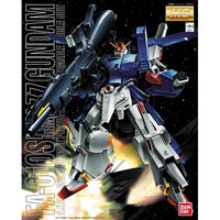 Gundam 1/100 MG ZZ Gundam FA-010S Full Armor ZZ Gundam Model Kit 1
