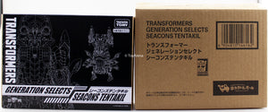 Transformers Generations Selects King Poseidon (Piranacon) Seacons Tentakil Action Figure