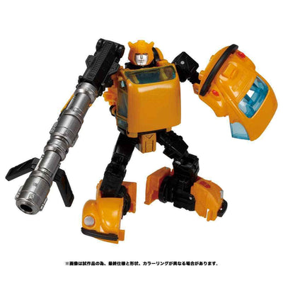 Transformers Generations War For Cybertron Deluxe Bumblebee Action Figure Netflix Exclusive WFC-09 (Japan Ver.)