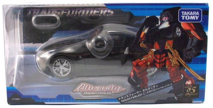 Transformers Alternity A-02 Nissan Fairlady Z Megatron [Diamond Black]