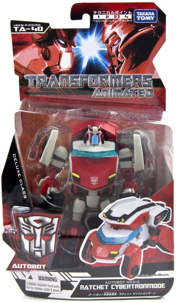 Japanese Transformers Animated - TA-40 Ratchet Cybertron Mode