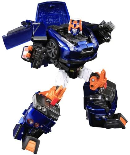 Transformers Alternity A-01 Dai Atras Atlas Nissan GT-R [Aurora Flare Blue Pearl] Asia Exclusive