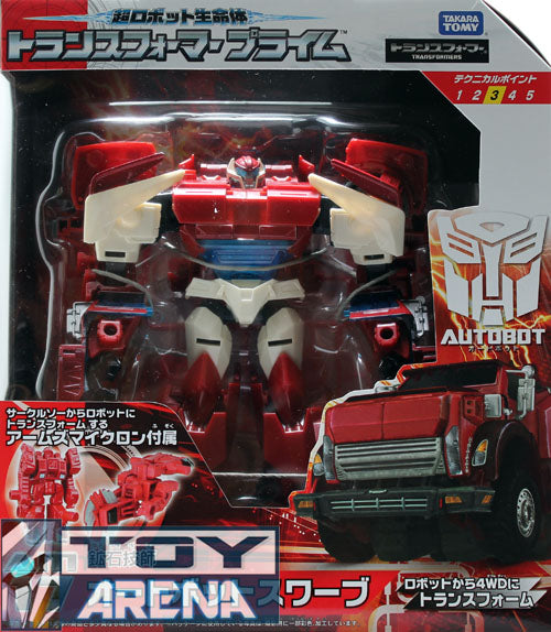 Transformers Prime AM-17 Swerve Takara Action Figure