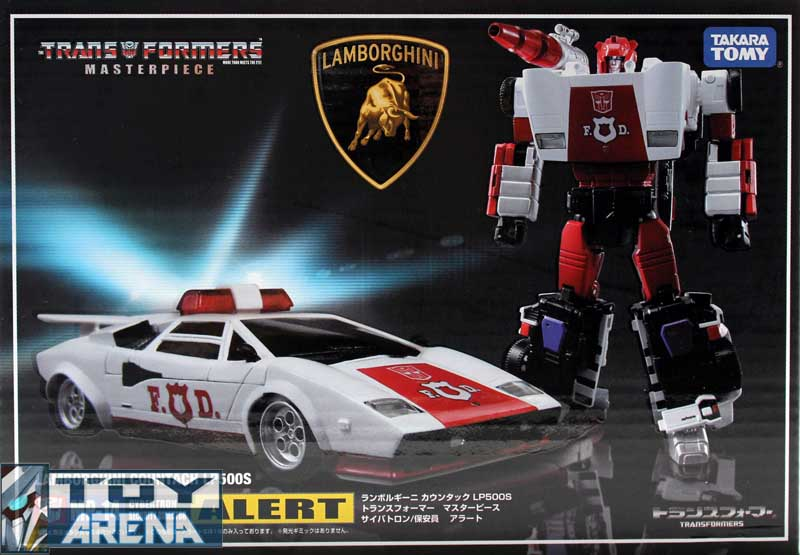 Transformers Masterpiece MP-14 Red Alert