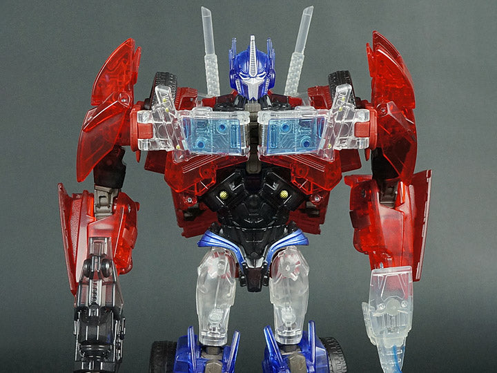 Transformers Prime Voyager Clear Optimus Prime First Edition Tokyo Toy Show 2012 Exclusive Takara