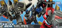 Transformers Henkei Classic Deluxe Seeker Jet Set (Cone Head) Limited Asia Exclusive Dirge, Thrust, and Ramjet