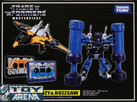 Transformers Masterpiece MP-16 Frenzy & Buzzsaw