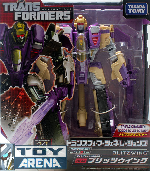 Transformers Generations TG-22 Blitzwing Decepticon Fall of Cybertron Action Figure