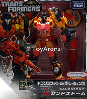 Transformers Generations TG-29 Sandstorm Autobot Fall of Cybertron Action Figure