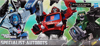 Transformers Henkei Classic Specialist Autobots Ionhide, Hound, Mirage 3-Pack Action Figure Set Asia Exclusive