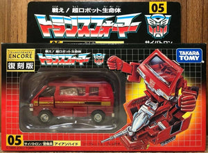 Transformers Encore 05 G1 Ironhide (Red Version)