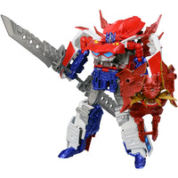 Transformers Go! G26 Optimus Prime EX Exprime Tripple Changer Beast Hunters Takara
