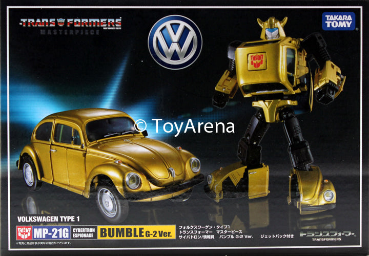 Transformers Masterpiece MP-21G G2 Bumblebee (Goldbug) Volkswagen Type 1 Super Beetle