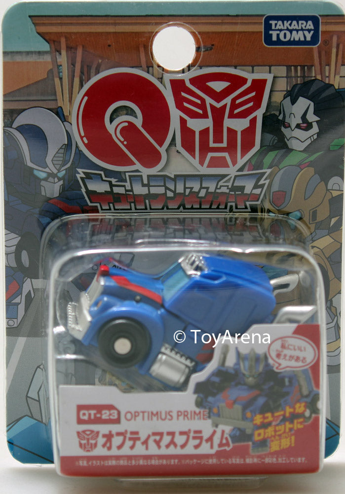 "Q Transformers Series 07 QT-23 Optimus Prime ""I Have a Good Idea"" Ver. Action Figure"