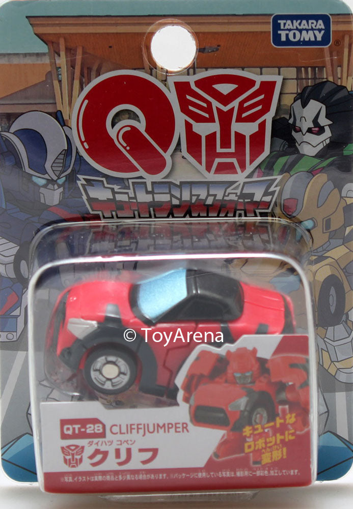 Q Transformers Series 08 QT-28 Cliffjumper Action Figure
